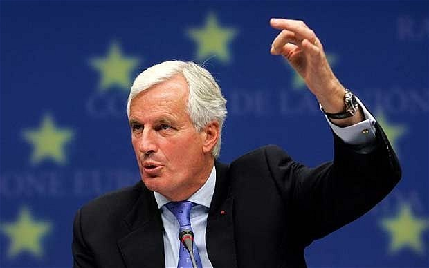 Brussels chief Michel Barnier bans banker meetings