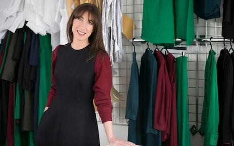 A day in the life of Samantha Cameron, founder of fashion brand Cefinn