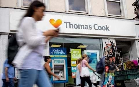 Thomas Cook collapses into administration as thousands left stranded abroad