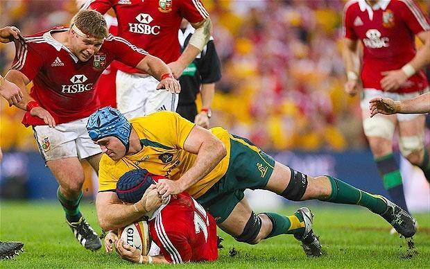 Lions 2013: Australia captain James Horwill cited for alleged stamp on lock Alun-Wyn Jones