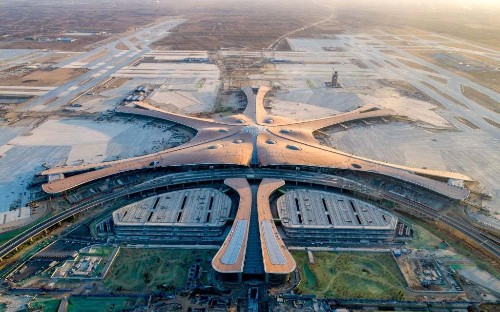 Inside Beijing's new £9bn airport – soon to be the world's largest
