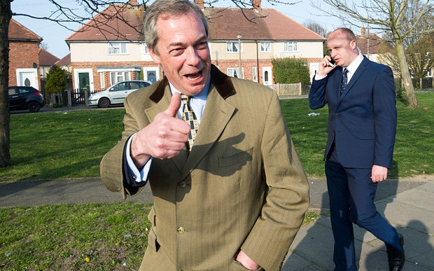 Nigel Farage interview: 'I am not playing the game'