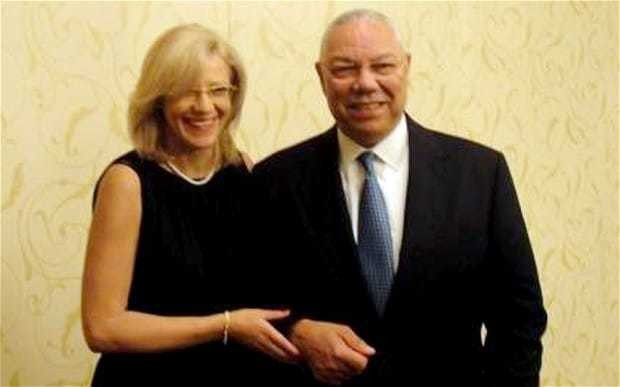 Colin Powell forced to deny affair with Romanian diplomat