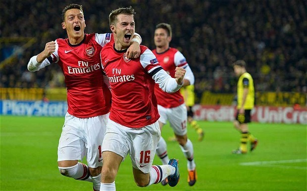Borussia Dortmund 0 Arsenal 1: match report