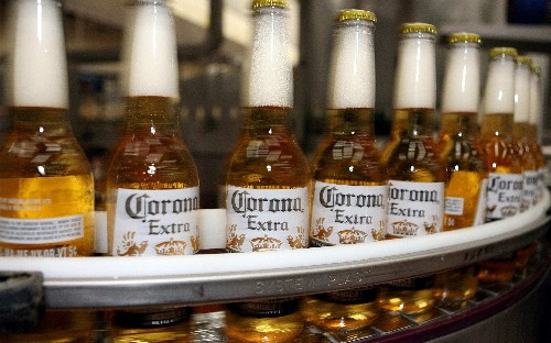 Corona maker struck by coronavirus outbreak