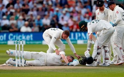 Steve Smith injury proves doctors still powerless to stop batsmen playing on after being hit