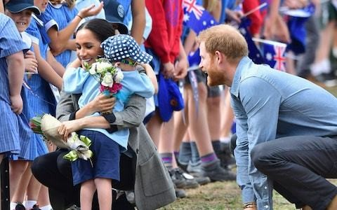 Duchess of Sussex to take colouring books, pens and Archie's baby clothes for South African children on royal tour