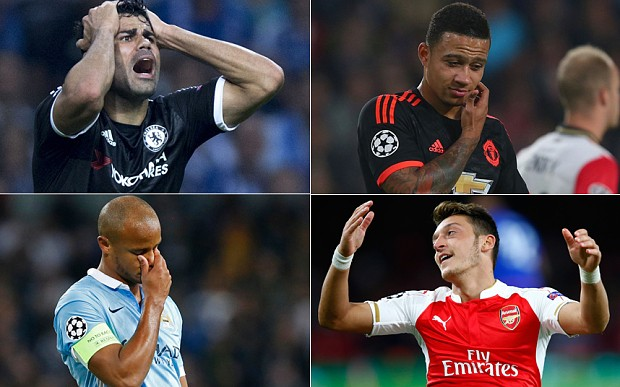 Why are English clubs failing in the Champions League?