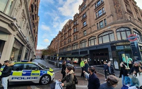 Kings College student stabbed to death outside Harrods was 'entirely blameless', police say