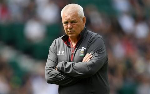 Warren Gatland chooses words carefully to avoid firing up England players ahead of Wales clash
