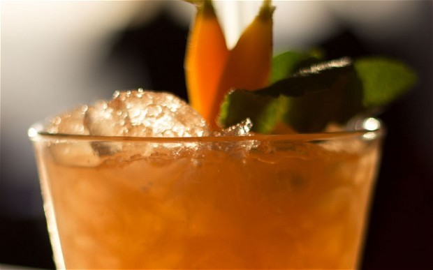 Cocktail of the week: carrot and coriander cobbler