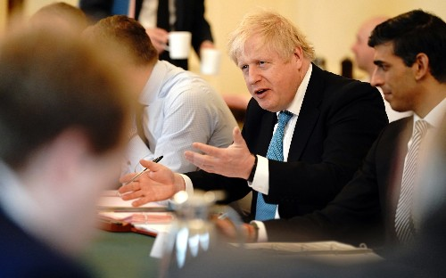 Boris Johnson stands firm after Brussels demands UK falls in with trade talks