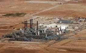 BP gas plant hit in Algerian rocket attack