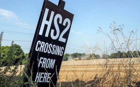 Minister says railways are built 'for our children' in strongest hint yet that HS2 will go ahead