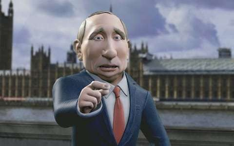 Tonight with Vladimir Putin, review: The BBC should have pulled the plug on this unfunny, offensive mess