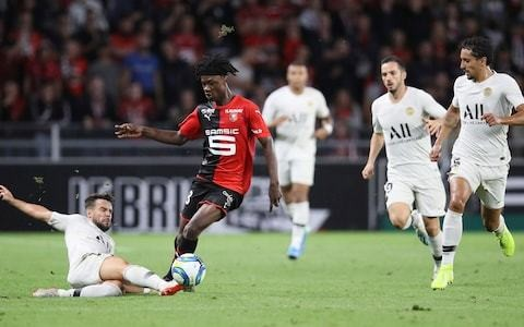 Remember the name: 16-year-old Eduardo Camavinga at the heart of Rennes victory over Paris Saint-Germain