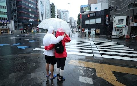 Steve Borthwick expresses concern for safety of people of Japan as Typhoon Hagibis bears down on Tokyo