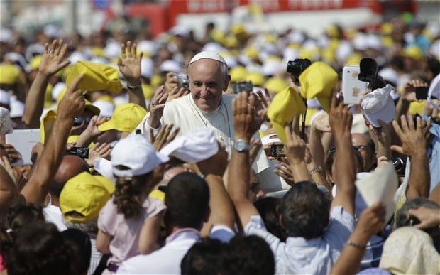 Pope accused of encouraging illegal immigration