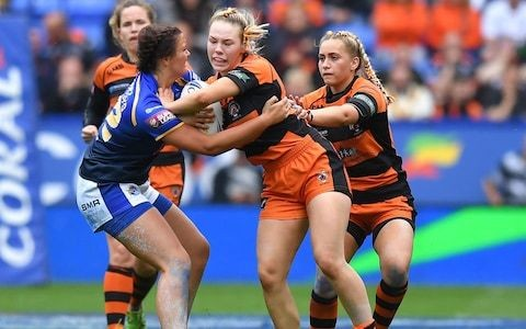 Women's Super League Grand Final: Castleford Tigers bid to avenge successive Challenge Cup final defeats to Leeds Rhinos