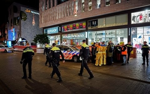 Three teenagers injured in stabbing attack on Hague shopping street