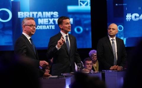 Letters: The Tories' televised squabbling doesn't inspire confidence in voters