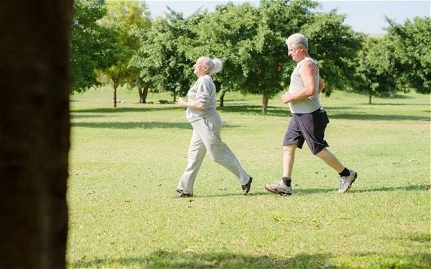 25-minute walk could add seven years to life