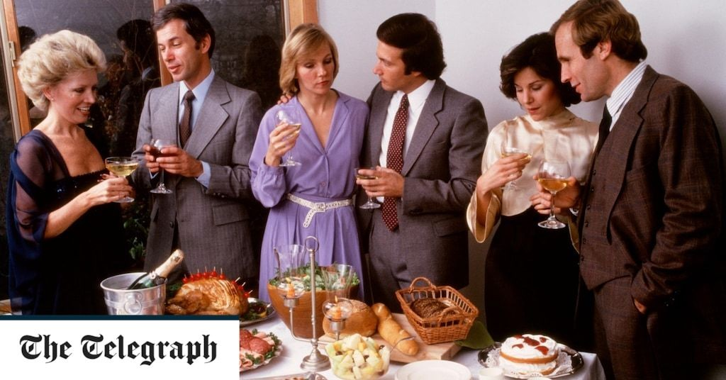 The '80s dinner party is back – but not how you remember it