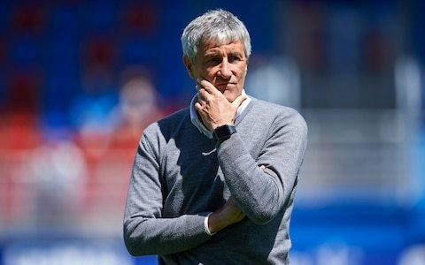 Barcelona appoint former Real Betis coach Quique Setien after Ernesto Valverde sacked