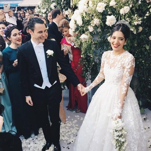 Inside Noor Fares's spectacular 'Noormandie' wedding
