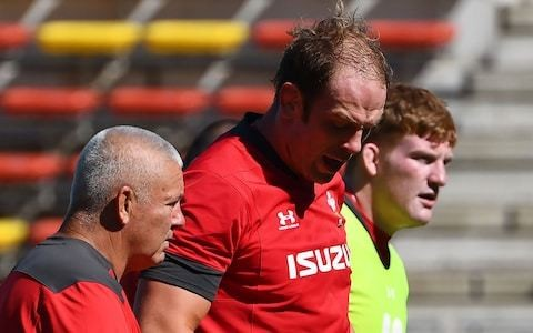 Alun Wyn Jones captains strongest possible Wales side for World Cup opener
