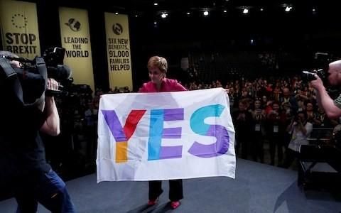 SNP veterans break cover to warn against Nicola Sturgeon's bid for indyref2 next year