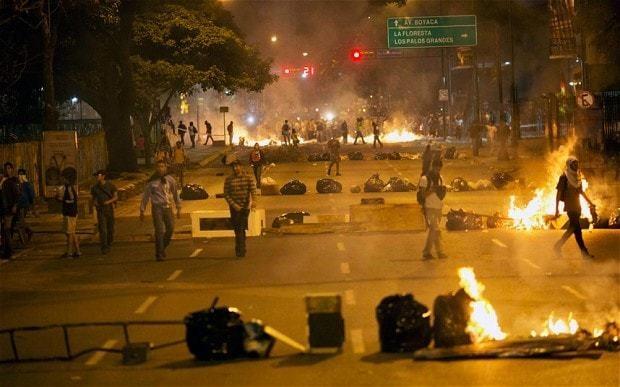 Venezuela orders troops into border city amid fierce clashes