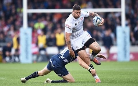 Matt Banahan shows there is more to him than versatility as Gloucester's stand-out performer in carnival of tries