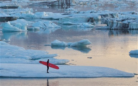 Endless winter: Arctic surfing