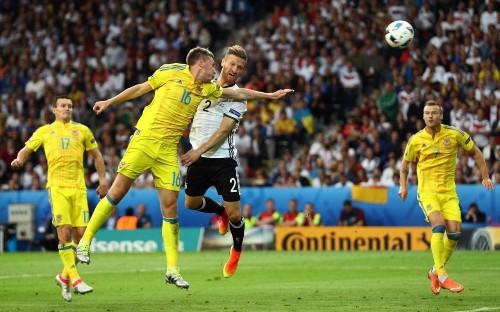 Germany 2-0 Ukraine: Bastian Schweinsteiger's late strike ensures world champions get Euros campaign off to perfect start