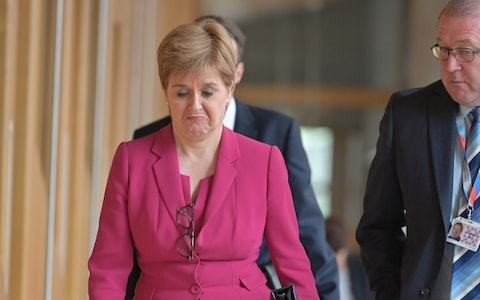 Nicola Sturgeon's performance as First Minister is turning Scots against independence