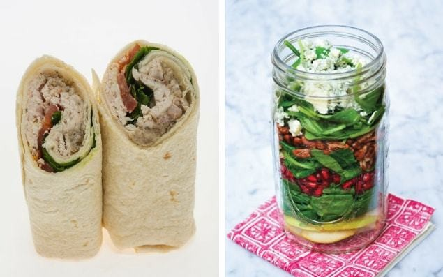 Rise of the 'posh' packed lunch: Workers replacing supermarket meal deals with salads in glass jars