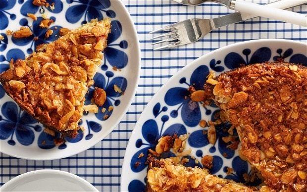 The new baker: Toscakaka Swedish almond cake