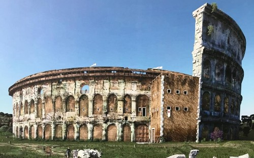 Exhibition reveals hidden history of Colosseum after the fall of Rome, from medieval fortresses to slaughterhouses