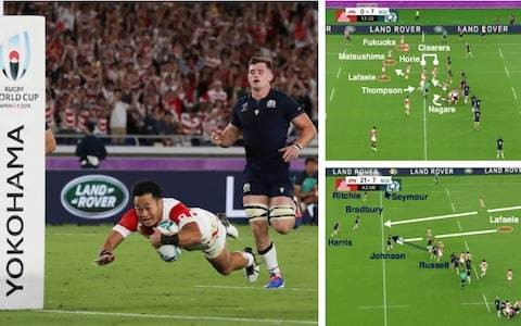 Planning, poise and persistence: Examining Japan's four fantastic tries against Scotland