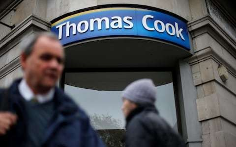 Suitors circle troubled Thomas Cook
