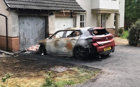 Tory councillor claims home and car firebombed over planning case
