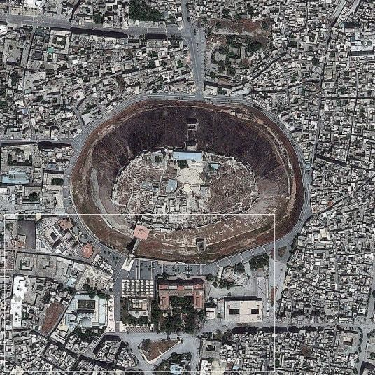 Syria from space: satellite images of civil war
