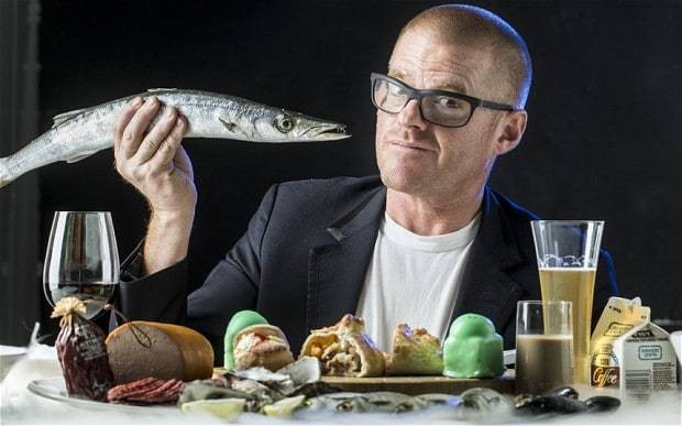 Heston Blumenthal: 'We chefs think we're the fourth emergency service'