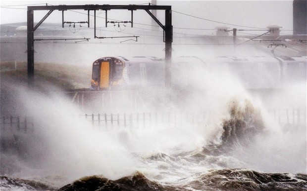 Train passengers urged to travel early as 80mph gales predicted