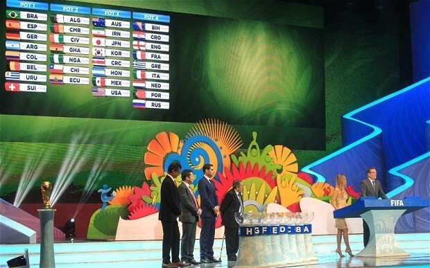 World Cup 2014 draw reaction from World Cup Nation