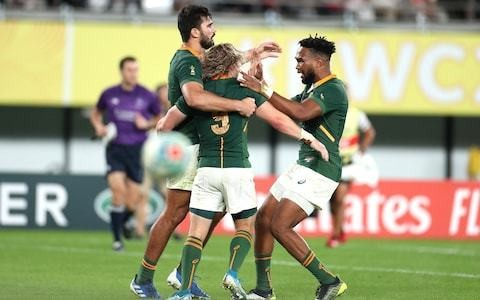 South Africa overpower hosts Japan to end the best storyline in world rugby
