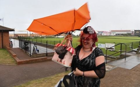 UK weather: Britain set for summer misery with rain forecast for rest of week and commuters warned of disruption