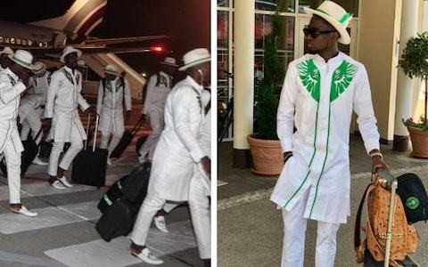 Nigeria World Cup squad arrives in Russia in style with Wilfred Ndidi leading the way