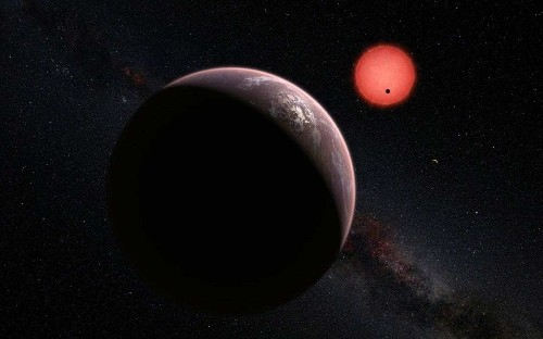 'Giant step' in search for life in the rest of the universe as scientists discover three Earth-like planets